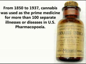 Cannabis Indica as medicine
